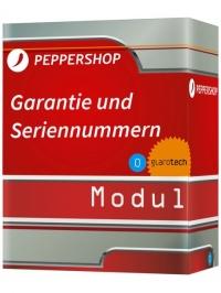 Garantiezeit / Seriennummernverwaltung