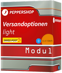 Versandoptionen Light Modul